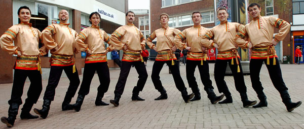 Russian dancers, Birmingham,UK